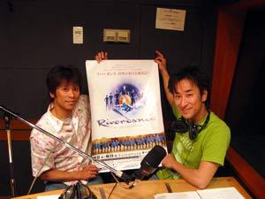 スタジオ風景・山田さんと福島さん